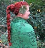 Kauri Straußenfeder Haarclip