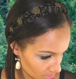 Braided Headband Snow White M color 3