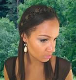 Geflochtenes Haarband Schneewittchen, medium - Farbe 3