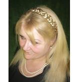 Braided Headband Snow White, medium