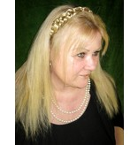 Geflochtenes Haarband Schneewittchen, medium