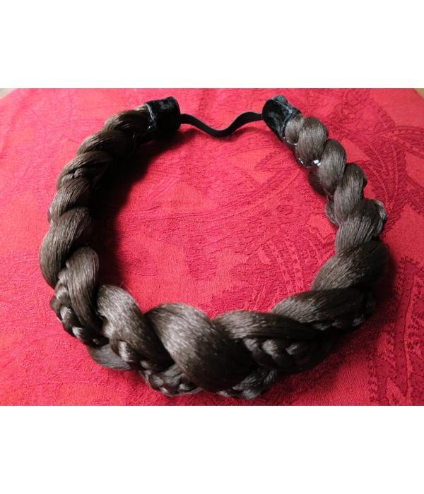 Haarband Rapunzel, geflochten, breit