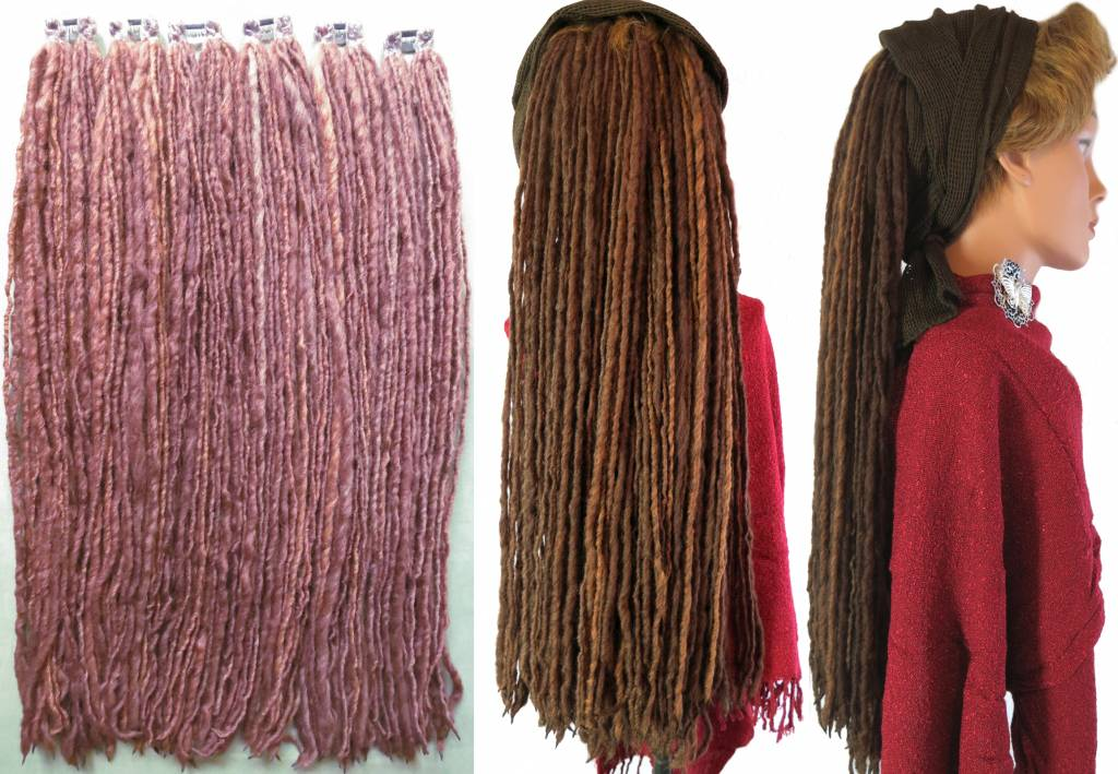 Special Dreadlocks For 2 Inches 5 Cm Short Hair In Many Colors