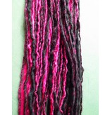 Gothic Lolita Clip-In Dread, pink schwarz, limitiert