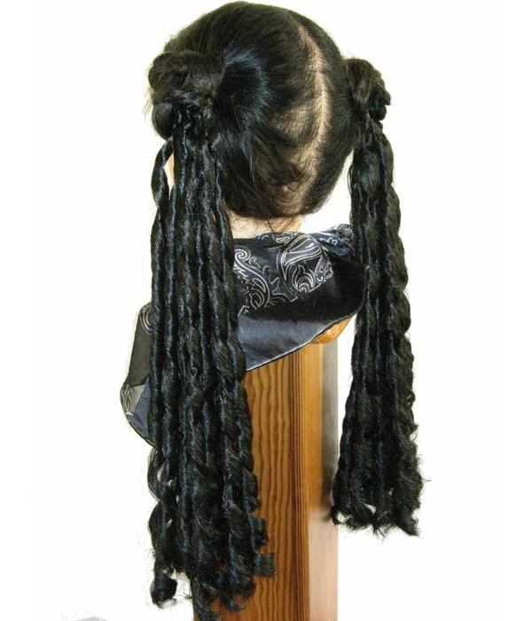 Gothic Lolita Barocklocken Haarteile, 2 x S
