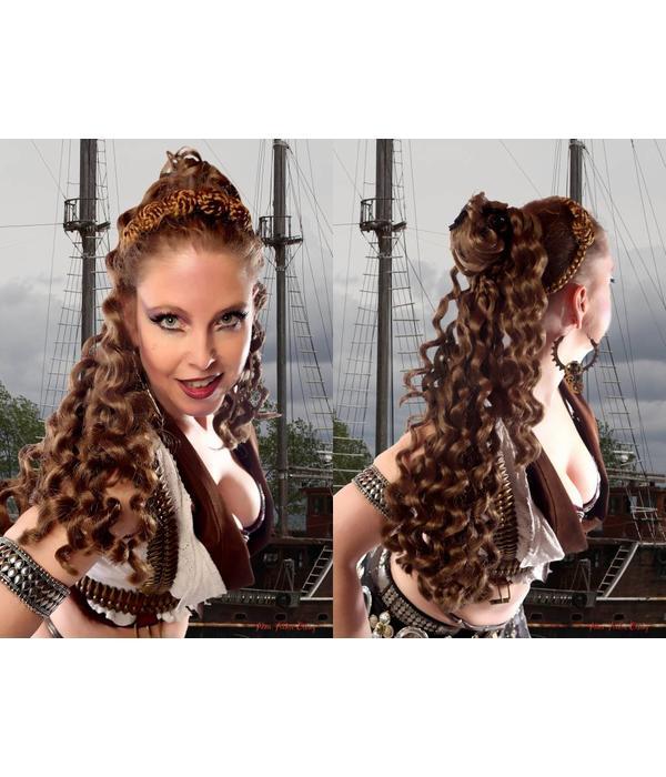 Gothic Haarteil romantische Locken