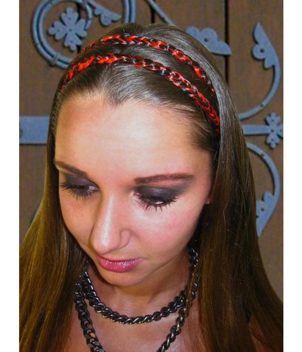 Double Braid Headband, thin