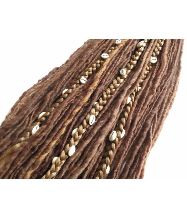 Kauri Extensions für Dreadlocks