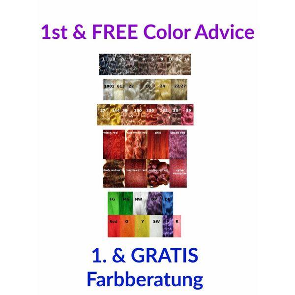 1. Farbberatung, GRATIS