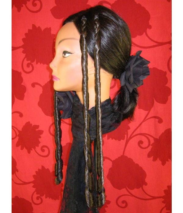 Club curls, clip-in double Sissi curls