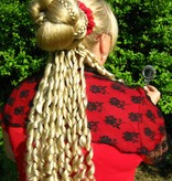 Korkenzieherlocken Set, Barock oder Sissi