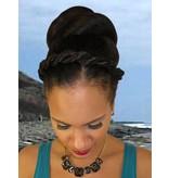 Afro Twist Headband, thick braid