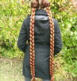 2 Hair Falls, S Plus extra, crimped hair texture