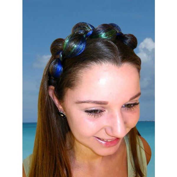 Elf Braid Headband Hair Crown