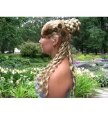 Pfauenfeder Haarclip - Antiklook Feder