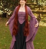Gothic Haarteil, Größe M extra, leicht gekrepptes Haar