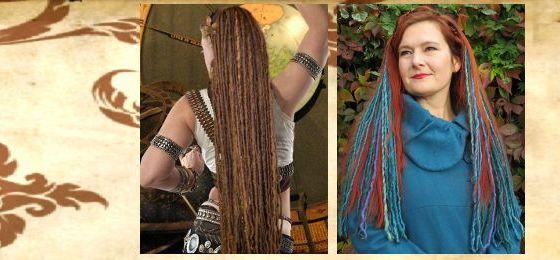 Dreadlocks, Clip-In Dreads & Tribal Fusion Haarteile