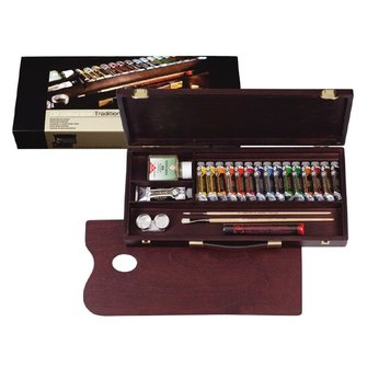 Oil Paint Box Rembrandt