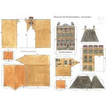 Paper model of Rembrandt's house