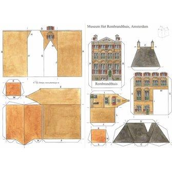 Bouwplaat Rembrandthuis