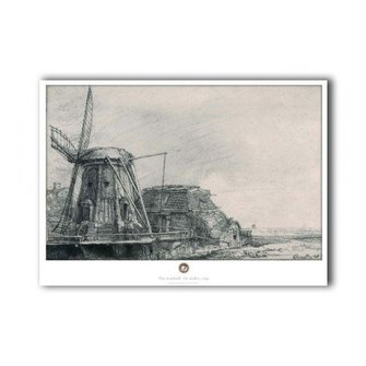 Poster Rembrandt Windmill