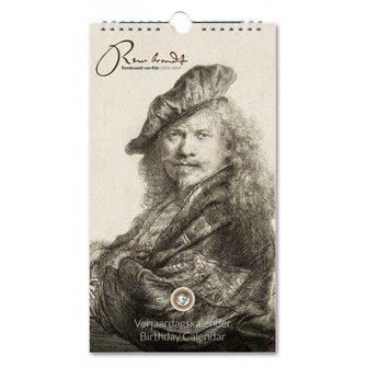 Birthday Calendar Rembrandt
