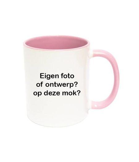 Mok met foto (roze)