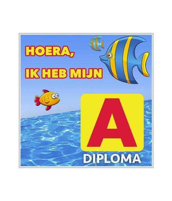 Zwemdiploma A Tegeltje