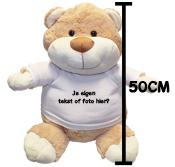 Fotocadeau grote knuffel beer met foto