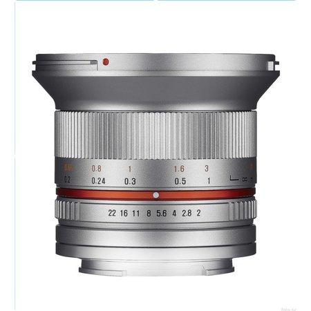 Samyang Samyang objectief 12mm F2 0 NCS CS zilver  | Diverse camera merken