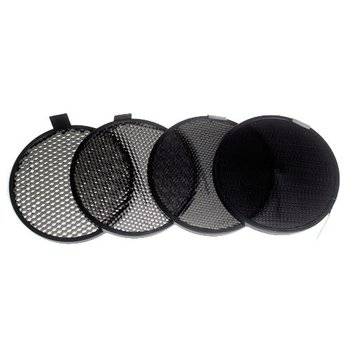 "Lencarta Set of 4 Honeycombs for 7"" Standard Reflector"
