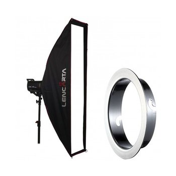 Lencarta Softbox Striplight 27x140cm Profold Folding | Diverse merken Speedring