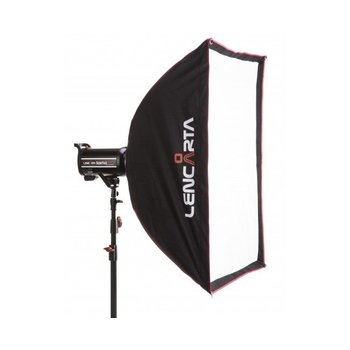 Lencarta Softbox Profold Folding 70x100cm incl speedring