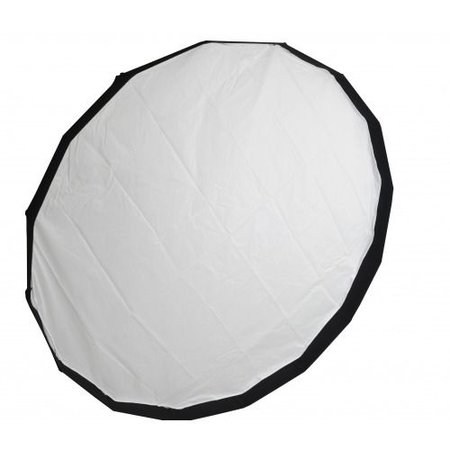 Lencarta Beauty Dish Folding 120cm White | Various brands Speedring