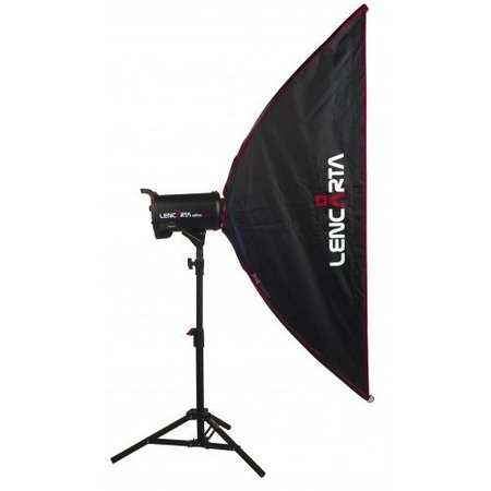 Lencarta Softbox Striplight 27x200cm Folding | For different brands Speedring