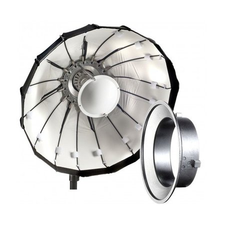 Lencarta Beauty Dish Folding 80cm White | Various brands Speedring - Copy
