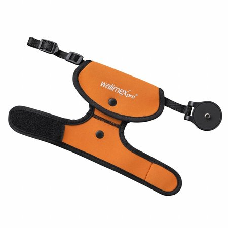 walimex pro wrist strap orange
