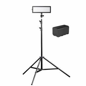 walimex pro Soft LED 200 Flat Bi Color Set3
