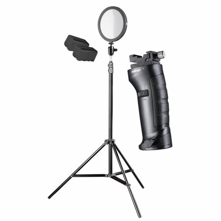 walimex pro LED Studio Verlichting Rond 200 Set XL