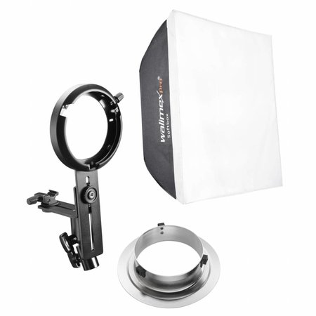 walimex pro Softbox 60x60cm for Compact Flashes