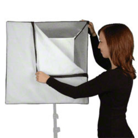 walimex pro Softbox 60x60cm voor compact flitsers