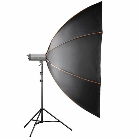 walimex pro Octagon Softbox PLUS Orange Line 213