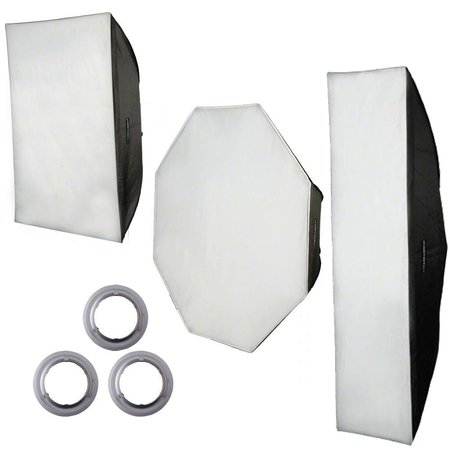 walimex pro Softbox-Set für Aurora/Bowens