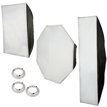 walimex pro Softbox-Set für & K