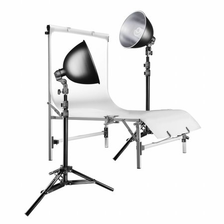 walimex Studioset Daylight 150/150 Basic + Table