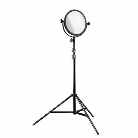 walimex pro LED Round 300 Set mit Stativ