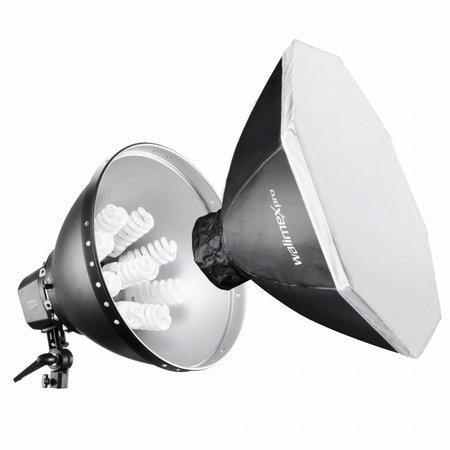 walimex pro Daylight 1260 mit Softbox, Ø 80cm