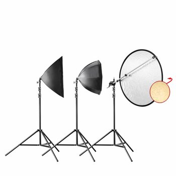 walimex pro Daylight 250 Portrait Vari Kit