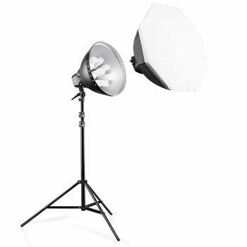 walimex pro Daylight-Set 1260 mit Softbox, Ø 80cm