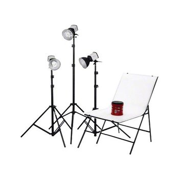 walimex Studioset Daylight 150/150/150 + Shooting Table